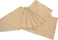 Homeblendz Beige, White Cotton Kitchen Linen Set(Pack of 7)