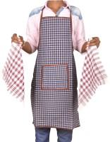 Jass Home Decor Dark Blue Cotton Kitchen Linen Set(Pack of 3)