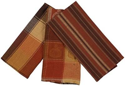 London Lady Brown Cotton Kitchen Linen Set