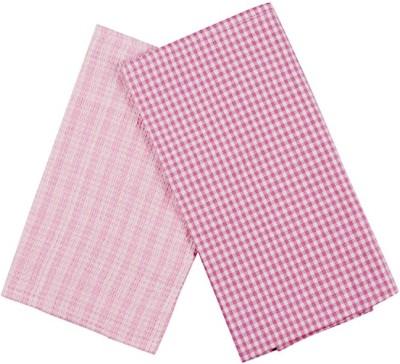 London Lady Pink Cotton Kitchen Linen Set