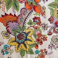 CPM HANDLOOM White, Red Cotton Kitchen Linen Set