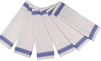 London Lady White Cotton Kitchen Linen Set