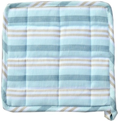 Five Seasons House Blue, Beige Cotton Kitchen Linen Set(Pack of 1)