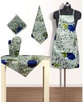 Vugis Multicolor Polycotton Kitchen Linen Set(Pack of 5)