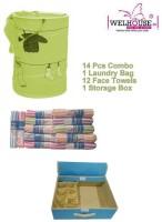 Welhouse Multicolor Polyester Kitchen Linen Set