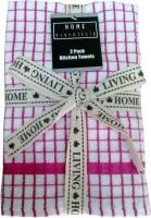 GSM PLUS Pink Terry Kitchen Linen Set