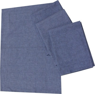 MetroFabrics Purple Cotton Kitchen Linen Set