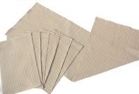 Homeblendz Grey, White Cotton Kitchen Linen Set(Pack of 7)