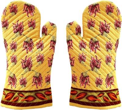 Miyan Bazaz Yellow, Multicolor Cotton Kitchen Linen Set