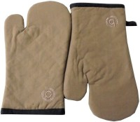 Tidy Brown Cotton Kitchen Linen Set(Pack of 2)