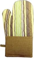Five Seasons House Green Cotton Kitchen Linen Set(Pack of 1)