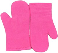 Tidy Pink Cotton Kitchen Linen Set(Pack of 2)