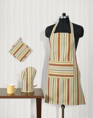 Shahenaz Home Shop Multicolor Cotton Kitchen Linen Set