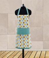 Dekor World Blue Cotton Kitchen Linen Set(Pack of 1)