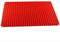 Divinext Red Silicon Kitchen Linen Set