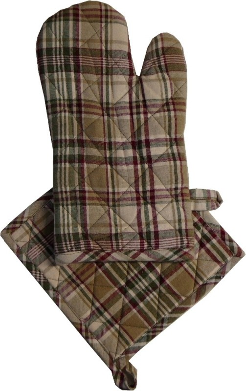 Adt Saral Multicolor Cotton Kitchen Linen Set(Pack of 2)