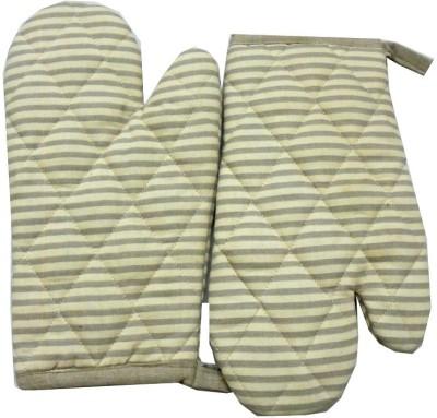 Tidy Beige, Grey Cotton Kitchen Linen Set