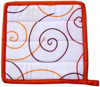 Five Seasons House Orange Cotton Kitchen Linen Set