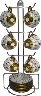 Sterling Cup Tree With Plate Holder Stainless Steel Kitchen Rack