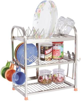 AMOL SG58 - 18 x 15 x 09 Stainless Steel Kitchen Rack