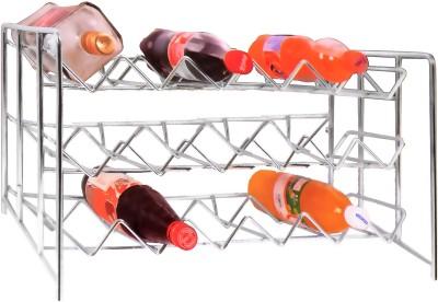 Klaxon Table Bottle Rack Stainless Steel Kitchen Rack