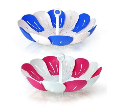 NAVKAR-CP Plastic Kitchen Rack(Multicolor)