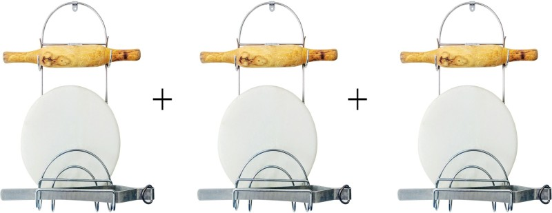 Sterling Rolling Pin Holder Stainless Steel Kitchen Rack(Steel)