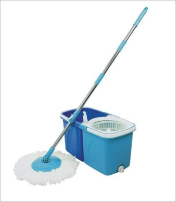 WAMA Twin Mop (floor Cleaner set with 2 Refills ) Kitchen Cleaner
