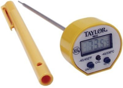 Taylor Thermometers 9842 Touch Free Kitchen Thermometer