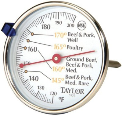 Taylor Thermometers 5939N Touch Free Kitchen Thermometer