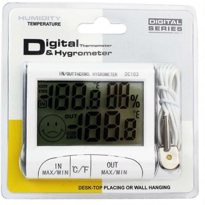 Humidity Indoor And Outdoor with Hygrometer Room Instant Read Thermocouple Kitchen Thermometer