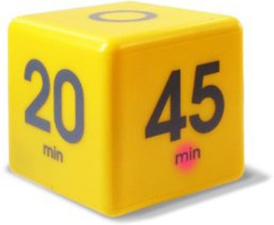 Smiledrive Magic Countdown Cube Timer 5 10 20 45 Minutes Digital Kitchen Timer