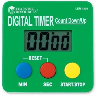 Learning Resources LER4339 Kitchen Timer