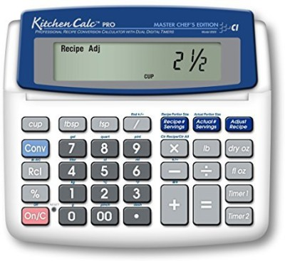 Calculated Industries 8305 Kitchen Timer