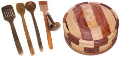 Onlineshoppee AFR2269 Brown Kitchen Tool Set
