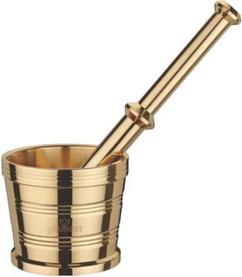Honest Khalbatta (Regular)brass Gold Kitchen Tool Set