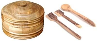 Onlineshoppee AFR2271 Brown Kitchen Tool Set