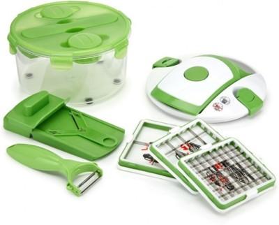 Abtrix AB - 45200 Green Kitchen Tool Set(Multi Salad Chef Cutter)