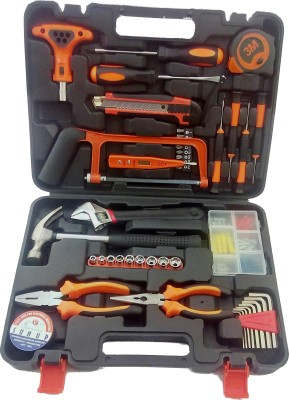 Toolzano TCS01 Multi Utility Plier(43 Tools, Black, Orange)