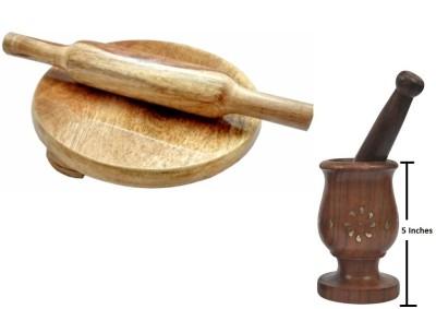 THW WDNCBSET04-M Brown Kitchen Tool Set