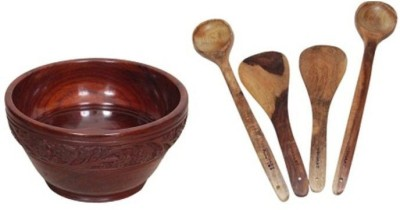 Onlineshoppee AFR2275 Brown Kitchen Tool Set