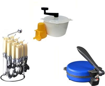 Dugri DUGRI Blue, Creem, White Kitchen Tool Set
