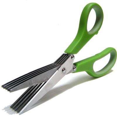 Finnexe stainless steel herb scissor Silver Kitchen Tool Set
