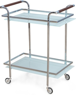 @home by Nilkamal Abelia Carbon Steel Kitchen Trolley at flipkart
