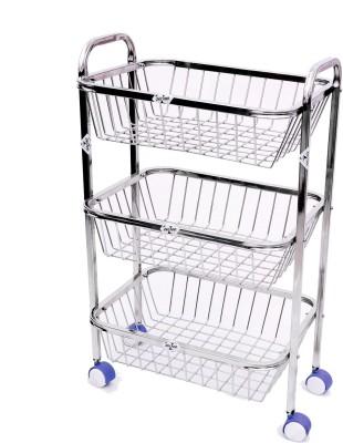 Zecado KTSQ3SH1215SQ Stainless Steel Kitchen Trolley