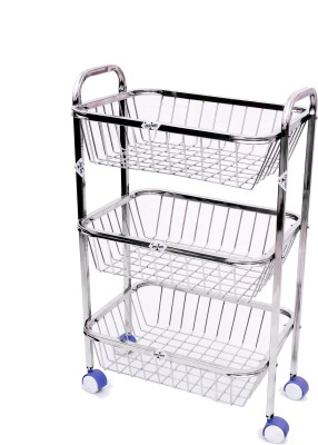 Zecado Stainless Steel Kitchen Trolley