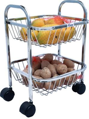 Utake Stainless Steel Kitchen Trolley