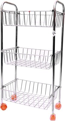 Zecado KTSQ3SH1013 Stainless Steel Kitchen Trolley