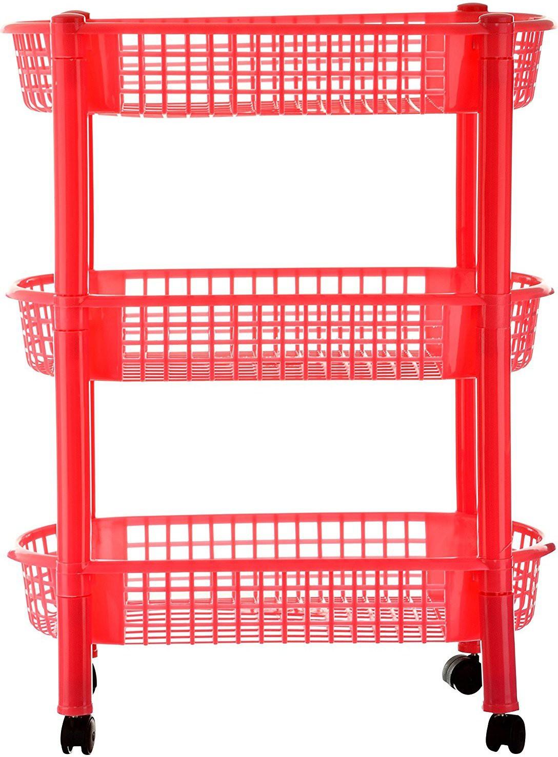 View Princeware 2768-3 Plastic Kitchen Trolley Furniture (Princeware)