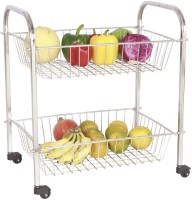 View Amol Stainless Steel Kitchen Trolley Furniture (Amol)